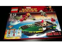 Lego Marvel Super Heroes - Iron Man Extremis Sea Port Battle 76006