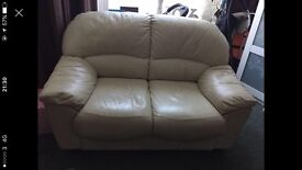 2 seater sofa, leather , comfy , good condition , just don't have the room for it anymore.