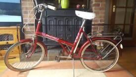 Vintage Raleigh ladies town bike