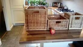 Storage baskets set of 3