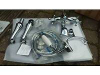 Twyford tap and shower set