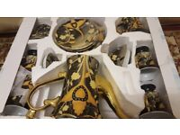 24 Carat Gold plated Teaset. Brand New boxed.