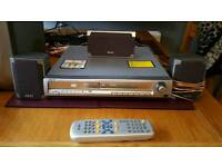 Dvd with surround system