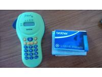 Brother P touch 55 label maker