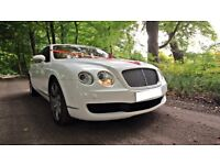 Bentley wedding car hire chauffeur driven only