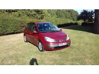 1.4 Renault Scenic 1 years MOT service history two keys