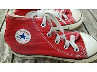Children Converse Hi top boots