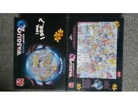 2 brand new wasgij puzzles