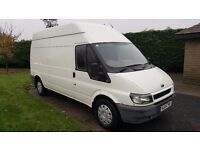 Ford transit t350 fsh no vat towbar full ply lined blue tooth hands free