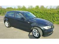 2009 bmw 1 series 5 door, Fsh, 2 new tyres