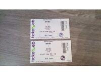 Hannah Wants Tickets x 2..Canal Mills. Leeds 25/02/17...£40