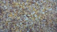 Rolled dry corn