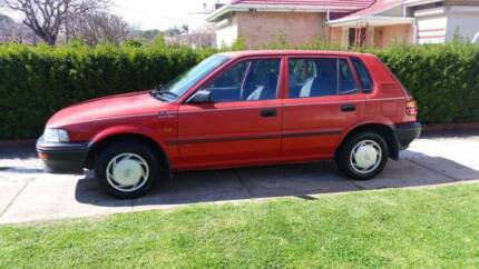 1996 Holden Nova Hatchback  Mechanically A1 Melrose Park Mitcham Area Preview