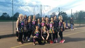 Hunting for netballers for fun league teams-weekly matches, lots of giggles too