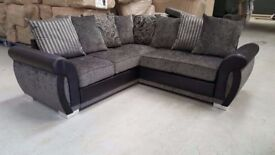 SOFA SALE PRICES: HELIX SOFA RANGE: CORNER SOFAS, 3+2 SETS, ARM CHAIRS, FOOT STOOLS