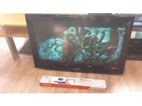 "Samsung 32"" 1080p Full HD Freeview LCD TV With Wall Bracket £65"