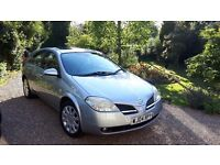 NISSAN PRIMERA 1.8 16v SE - MOT TO APRIL 2018