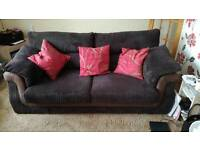 3+2 seater sofas 12 months old