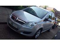 Vauxhall Zafira 2011 (60) Exclusiv CDTi EcoFLEX, Manual, Diesel, Low Mileage: 37K, Silver, PCO