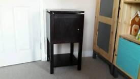 Black lacquer cabinet