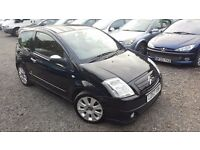 itroen C2 1.6 i 16v Code 3dr, HPI CLEAR, LONG MOT, FULL LEATHER INTERIOR, P/X WELCOME