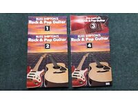 Rush Shipton's Rock & Pop Guitar & The Complete Guitar Player Tuition Books & Tapes