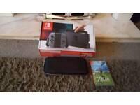 Nintendo switch fully boxed like new plus zelda