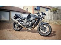 Triumph Speed Four 600cc Black