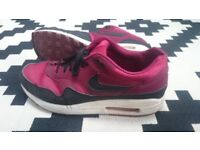 Nike Air Max 1's, UK Size 9, Good Condition, Rare Colour, With Original Box, £20 Offers