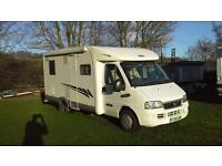 fiat ducato mclouis glen 4 berth low line very low milage perfect condition all round
