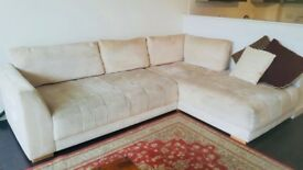 Beautiful & COMFORTABLE L-shaped couch for sale