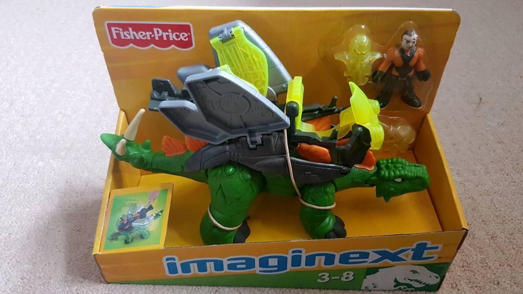 BNIB Imaginext Stegosaurus Dinosaur