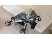 Beautiful Silver Cross Freeway 3Way Travel System
