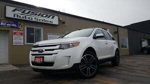 2013 Ford Edge SEL APPERANCE PKG-NAVIGATION-PANROOF-LEATHER/SUED