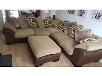 very large DFS corner sofa
