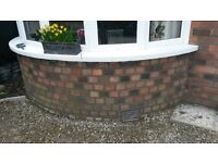 Repointing / wall ties / brick replacement / head and sill replacement / brick cleaning