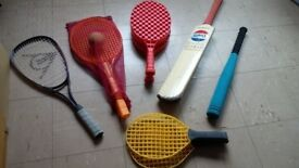 Children's Sports Bats and Racquets