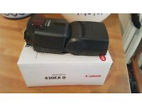 Canon Speedlite 430EX-II (Camera Flash, Like New, £80 ONO)