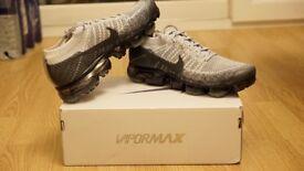 Nike Air Vapormax Flyknit Grey Black Heritage Pack UK 8