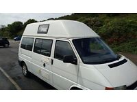 Camper van VW 2.5 TDi T4 High Top - Lovely family vehicle