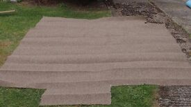 Brand new Mocha/mid brown carpet - medium to heavy wear (lounges/stairs/halls etc) min 228cm x 250cm