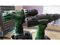 Cordless drill Hitachi 18v