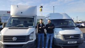 24/7 service Friendly Professional Removal Man & Van from £25/h or £1/mile