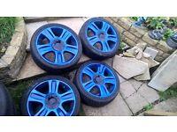 ford mondeo mk3 alloy wheels 18''