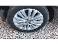 Vauxhall Corsa D. Alloy wheels. Multi spoke.