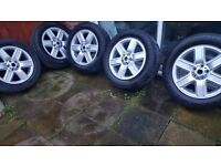 "Set of 5 19"" Range Rover Vogue wheels and tyres for the L322 RR"