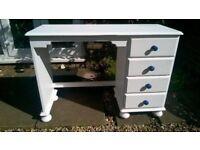 Renovated Pine Desk / Dresser