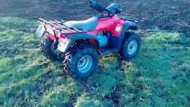 Honda quad 450 4x4 new bear claw tyres and brakes