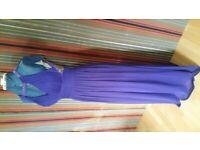 BETSY ADAM Designer Cut out Maxi Dress. Size : 2 ( M )