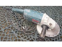 BOSCH 240VOLT GWS20-230 ANGLE GRINDER 230MM 9 INCH WITH CUTTING DISC TOOL